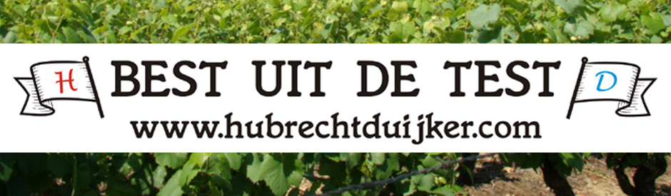 """Zomerse Kwast-wijnen """"Best uit de test"""" Hubrecht Duijker"""