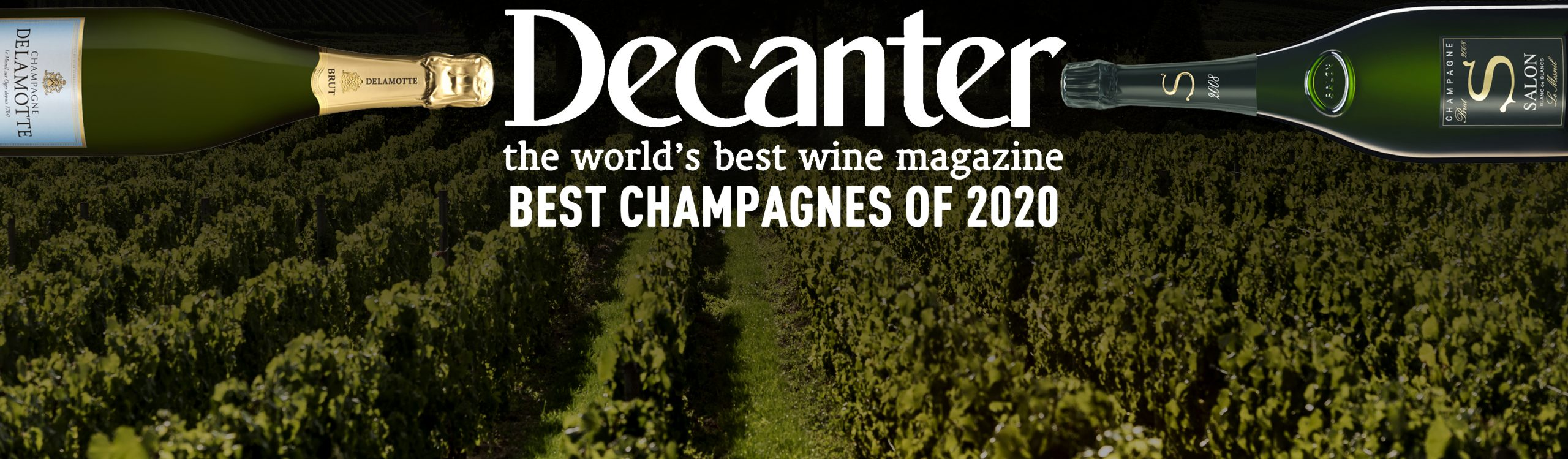 Salon & Delamotte beste champagnes 2020 volgens Decanter