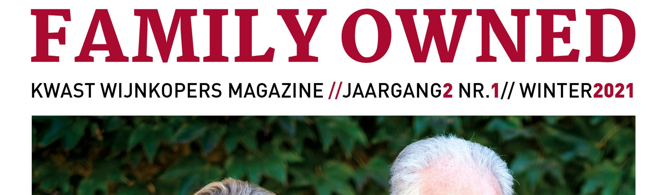 Family Owned Magazine #1 2021